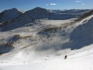 Ski Clinton Peak, ski 13ers