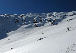 ted mahon, ski 13ers, ski clinton peak