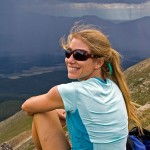 Christy Mahon - Centennial Skier