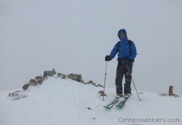 ted mahon, ski 13ers, dyer mountain