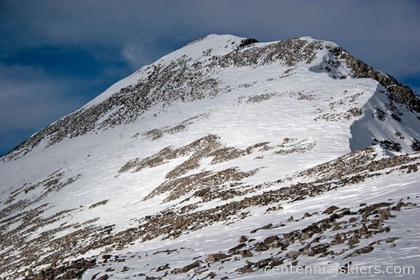 Fletcher Mountain, ski 13ers