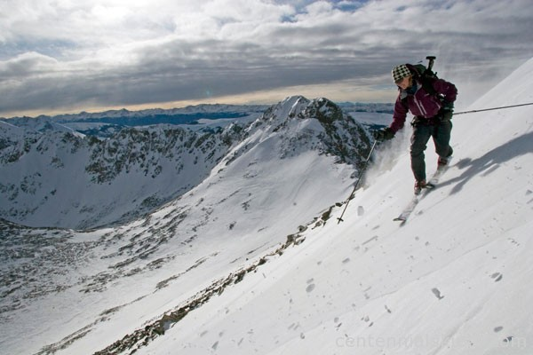 Fletcher Mountain, christy mahon, ski 13ers