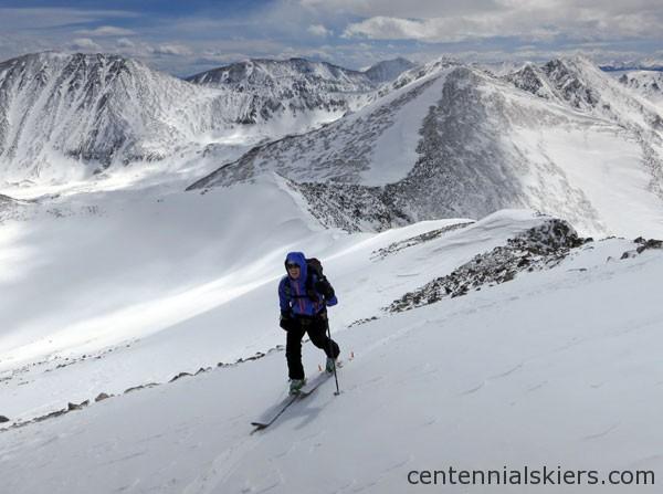 ski 13ers, atlantic pacific peak,