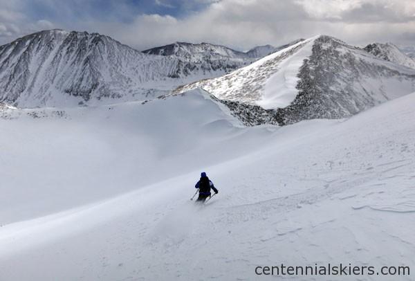 ski 13ers, pacific peak