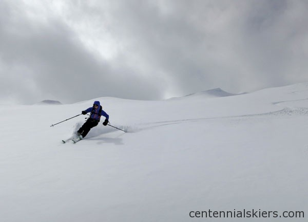 ski 13ers, atlantic peak, christy mahon