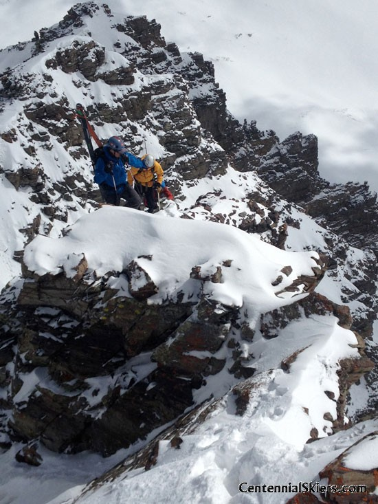 Cathedral Peak, Pearl Couloir, Centennial Skiers, Ted Mahon
