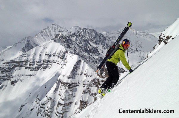 Cathedral Peak, Pearl Couloir, Centennial Skiers, chris davenport