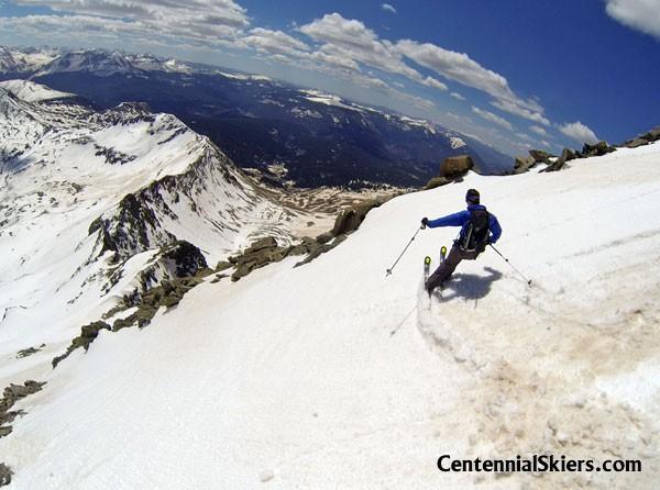 ted mahon, gladstone peak