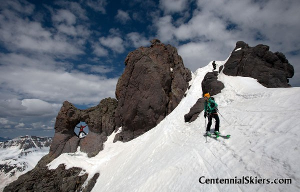 teakettle mountain, centennial skiers