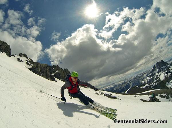 teakettle mountain, centennial skiers, matt lanning