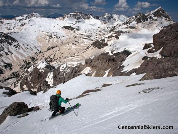 teakettle mountain, centennial skiers, christy mahon