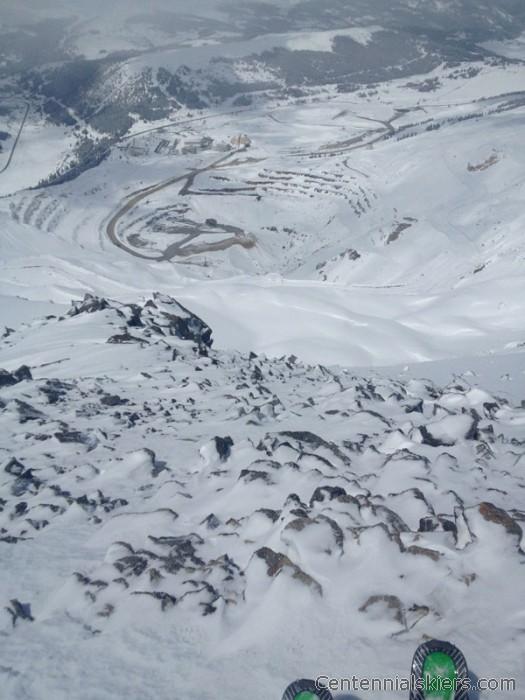 clinton peak, chris davenport, centennial skiers