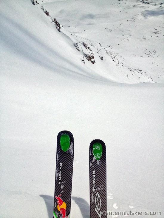 clinton peak, kastle tx97, ski 13ers