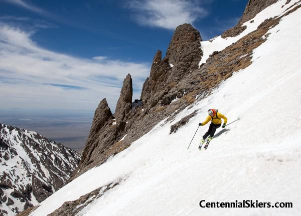 centennial skiers, chris davenport