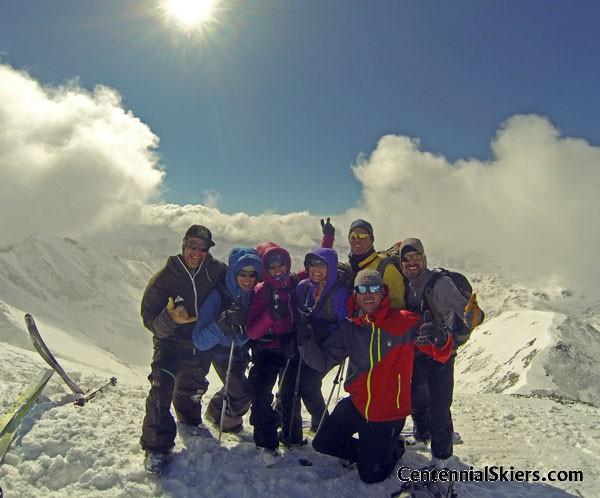 Jones Mountain, Centennial Skiers