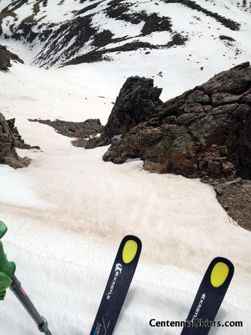 kastle tx 77, chris davenport, centennial skiers