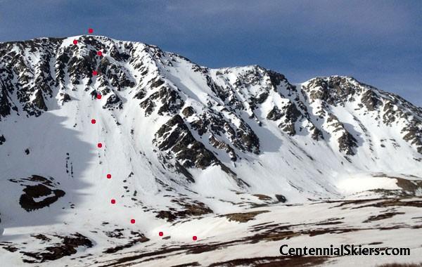 Mount Edwards North Face