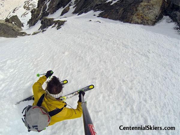 Solo on Mount Edwards – 13,850 ft.