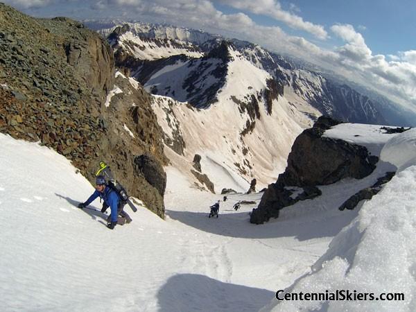 Vermillion Peak, Centennial Skiers, ted mahon