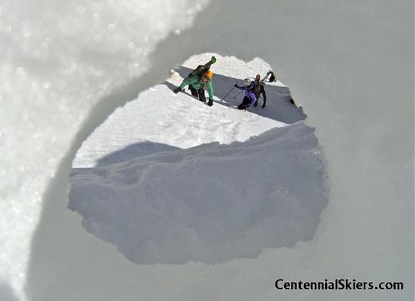 Vermillion Peak, Centennial Skiers,