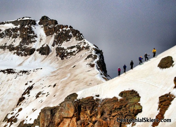 Vermillion Peak – The Vermillion Dollar Couloir