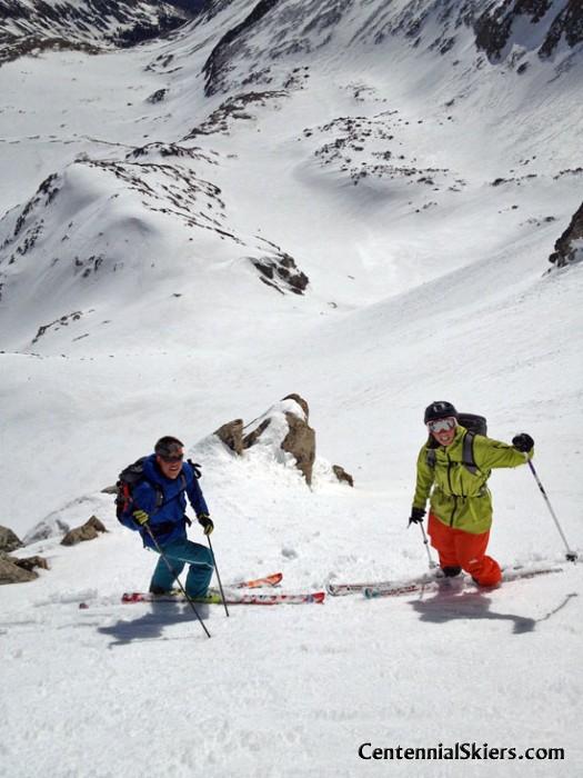 pete gaston, max taam, ski 13ers, fletcher mountain