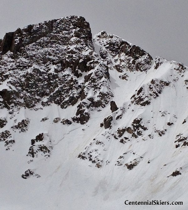 Pacific peak NE couloir