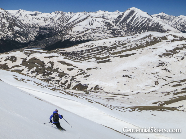 Mount Silverheels, centennial skiers, christy mahon