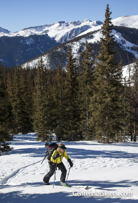 Half peak, 13ers, Centennial skiers
