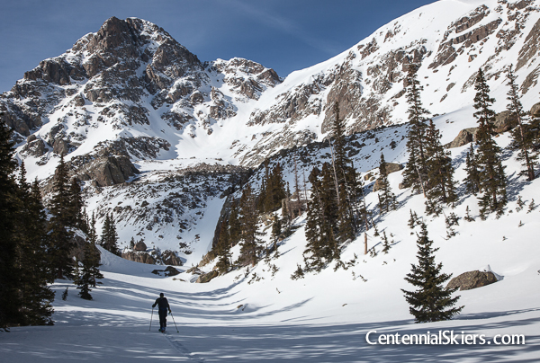 Centennial Skiers, east cross creek