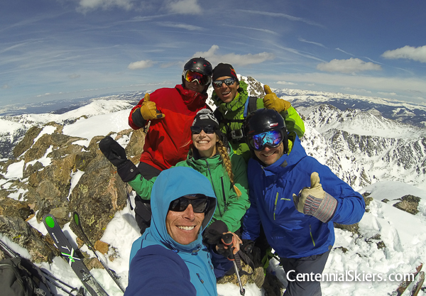 Centennial Skiers, holy cross ridge