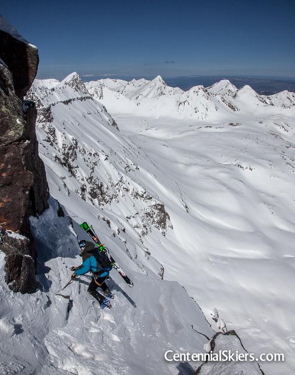 chris davenport, dallas peak, centennial skiers