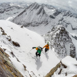 Sean Shean, christy mahon, vestal peak, centennial skiers
