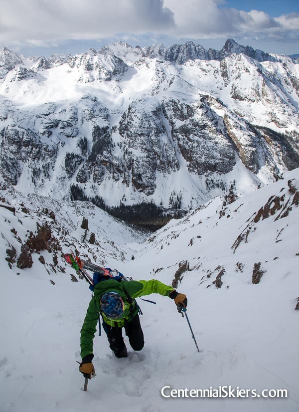 Chris Davenport, Vestal Peak