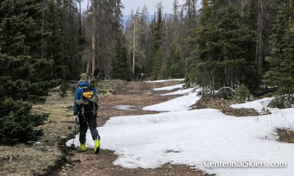 Christy Mahon descends Mount Stewart